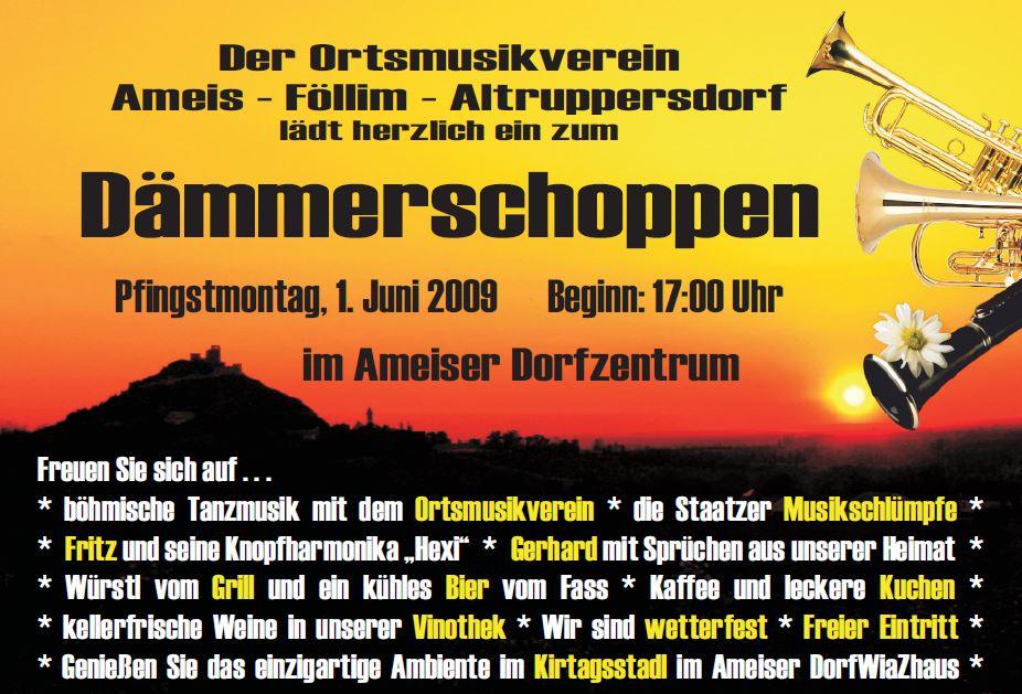 2009 - Dämmerschoppen