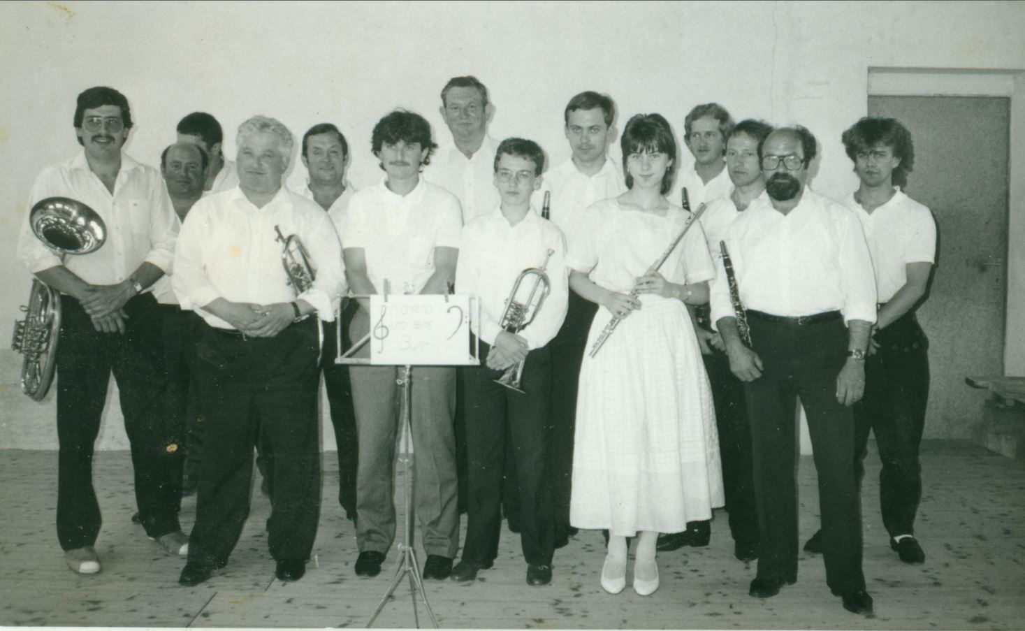 1987 - Ortsmusik in Altruppersdorf